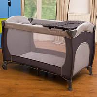 Манеж-кроватка Hauck Sleep'n Play Center цвет Серый