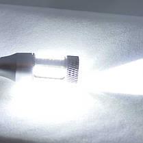Светодиодная автомобильная лампа SLP LED с цоколем T15(W16W)  32 led 4014 + Cree 5W в фонарь заднего хода, фото 2