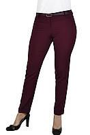 Женские брюки  молодежные (308 модель) Цвета Марсала