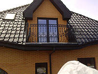 Кованые балконные перила арт.кп 25