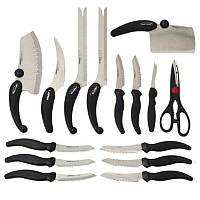 Набор ножей Miracle Blade (Мирэкл Блэйд) 13 предметов при заказе от 2-ух комплектов в подарок подставки