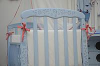 Детская кроватка Верес Соня ЛД 1 патина морская лазурь
