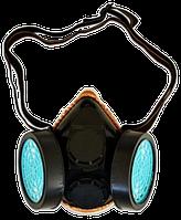 Маска респиратор со сменными фильтрами TECHNICS