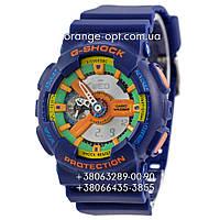 Часы Casio G-Shock GW-A1100 blue/orange Класс-AAA