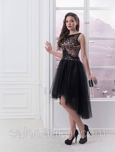 Вечернее, выпускное платье V-078