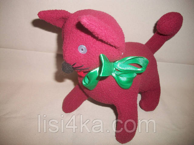 Интерьерный текстильный котенок-игрушка