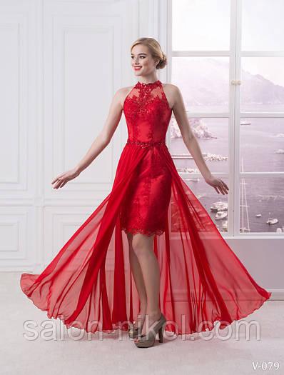 Вечернее, выпускное платье V-079