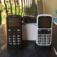 Телефон «Бабушкофон» Globex Senior2 (GU S02) на 1 Sim с Базой-подзарядкой для людей с плохим зрением