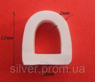 Уплотнитель силиконовый для дверей печи
