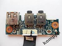Плата USB Audio ASUS K53U X53 A53 LS-7322P