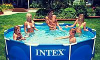 Семейный каркасный бассейн Intex 28202 (56999)