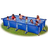 Каркасный бассейн Intex 28273 (58982), 450-220-84 см