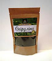 Спирулина водоросль - уникальная пищевая добавка, порошок 100г