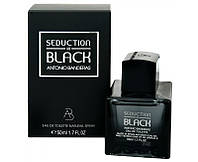 Antonio Banderas Seduction in Black  - Туалетная вода 50ml (Оригинал)