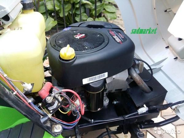 Система зажигания и электрооборудование садового трактора STIHL/VIKING