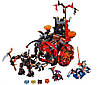 Конструктор Nexu Knights Джестро-мобиль: 675 деталей, 3 фигурки