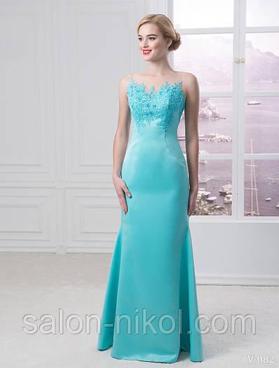 Вечернее, выпускное платье V-082