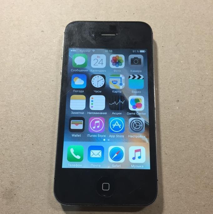 Iphone 4S  16GB (оригинал)неверлок