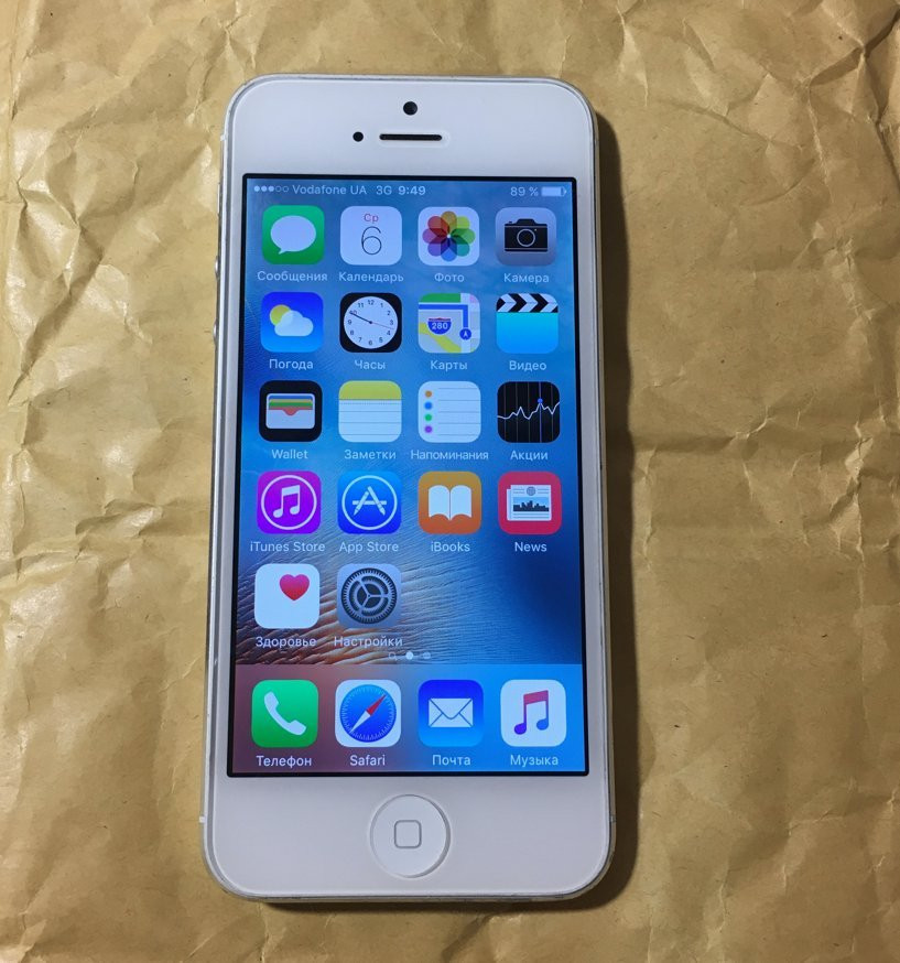 Iphone 5 16гб (оригинал) неверлок