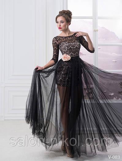 Вечернее, выпускное платье V-083