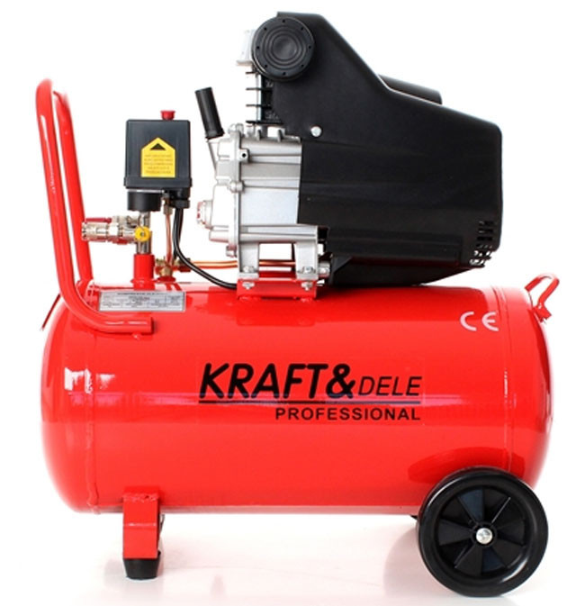 Kæmpestor Компрессор Kraftdele 50 л 3,8 КМ+покрасочный набор: продажа, цена XP95