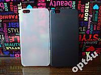 Чехол ультратонкий пластиковый для на IPhone 6+ 6plus 6плюс полупрозрачный накладка
