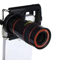 Универсальный объектив 8х для телефона, смартфона, телескоп, монокль