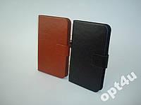 Чехол книжка универсальный на для IPhone 5 LG LENOVO FLY HTC NOKIA разные модели