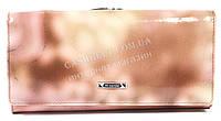 Оригинальный стильный женский кошелек с очень качественной кожи H.VERDE art. 2029-D53 розовый мрамор