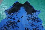 Сине черная шкура на пол бразильского производства, фото 2