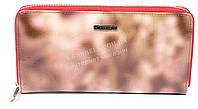 Оригинальный стильный женский кошелек барсетка с очень качественной кожи H.VERDE art. 2480-D53 розовый мрамор, фото 1