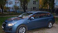 Дефлекторы окон (ветровики) COBRA-Tuning на CHEVROLET CRUZE Wagon 2012-2015