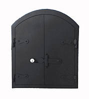 Дверца для хлебной печи стальная 55 х 45 см