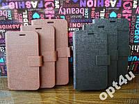 Чехол книжка универсальная для на IPhone 4 4S 5 5S LENOVO FLY Samsung HTC другие модели
