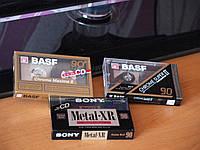 Новые аудио кассеты Sony metal/Basf chrome