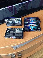 Новые аудио кассеты SKC slim super chrome CD 90