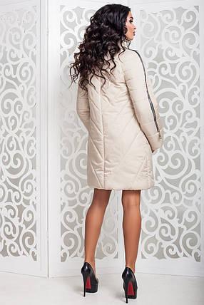 Женская теплая осенняя куртка р. 44-58 арт. 970 Тон 25, фото 2