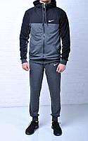 Мужской спортивный костюм Nike Hood антрацыт на молнии найк / nike