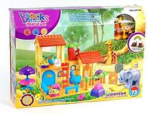 Детский конструктор JDLT 5302 Принцессы, Игровая площадка, 43 дет