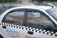 "Дефлекторы окон (ветровики) ""COBRA-Tuning"" на Chevrolet Lanos Седан"