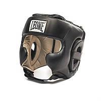 Боксерский шлем для тренировок Training Leone черный