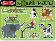 Звуковой пазл Зоопарк Melissa&Doug (MD727)