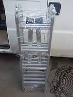 Лестница стремянка алюминиевая трансформер 4х4 4,5 метра длинна