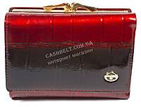 Стильный компактный женский кошелек с очень качественной кожи SERGIO TACCHINI art. 31406 красный лак, фото 1