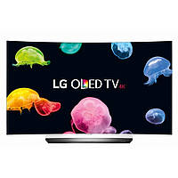 Телевизор LG OLED55C6V (4K Ultra HD, Smart TV, Wi-Fi, 3D, пульт ДУ Magic Remote, изогнутый экран)