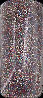 Акриловая пудра цветная для дизайна ногтей 12 гр., Цвет: голограмма с искривлением, Classic Sparkle Hologram
