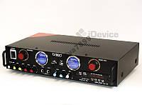 Стерео усилитель UKC KA-105F Karaoke USB/FM
