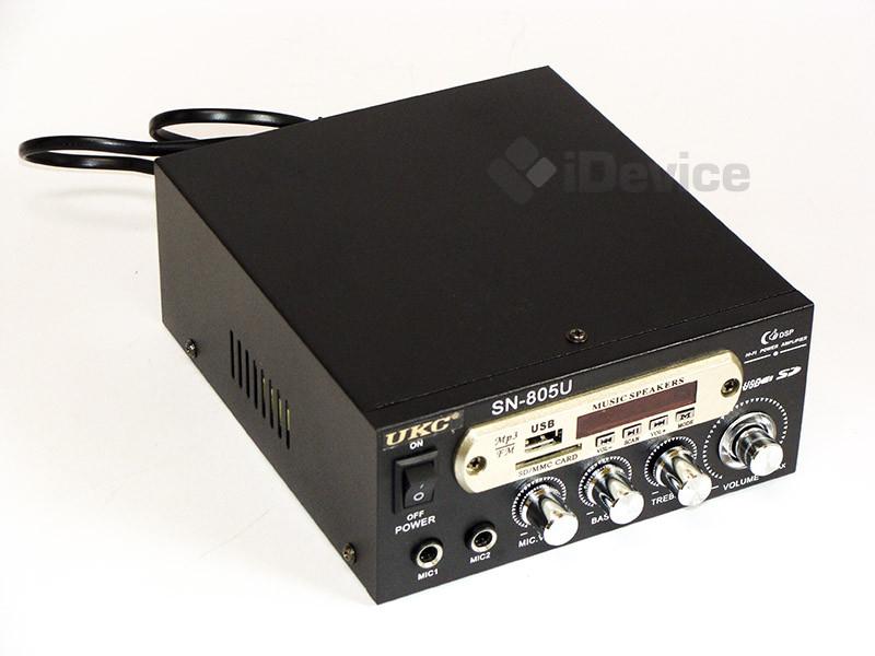 Стерео усилитель UKC SN-805U USB/SD/FM/Karaoke
