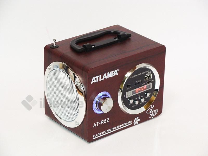 Портативная колонка Atlanfa АТ-R52