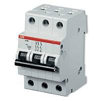Автоматические выключатели ABB трехполюсные SH 203 С 63 A